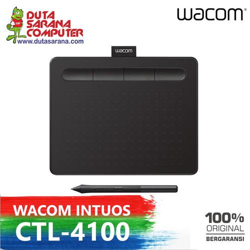 Foto Produk PROMO NEW WACOM Intuos CTL4100 / CTL 4100 Drawing Tablet 4096 Pressure dari DUTASARANA
