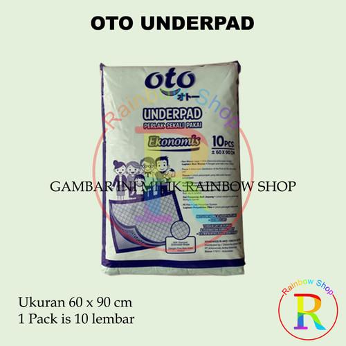 Foto Produk OTO Underpad Alas kasur ranjang perlak uk 60x90 cm dari RainbowShop82