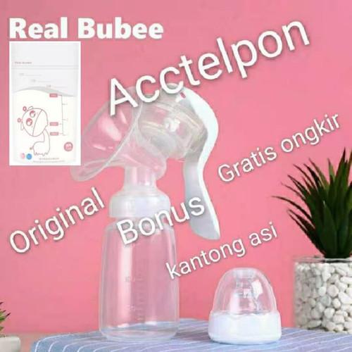 Foto Produk Breast pump / pompa asi manual real bubee dari acctelpon