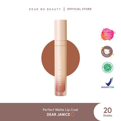Foto Produk Dear Me Beauty Perfect Matte Lip Coat - Dear Janice dari Dear Me Beauty