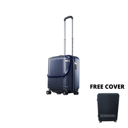 "Foto Produk ace. Japan Palisades-Z Koper Hardcase Trolley 20"" Jepang Navy 58103 dari Ace Japan Luggage"
