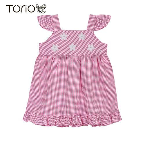 Foto Produk TORIO Pretty Pink Jasmine Dress - Baju Dress Anak Perempuan - 12-18 bulan dari Torio
