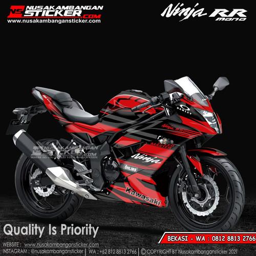 Foto Produk Stiker Ninja Mono Merah Grafis dari Nusakambangan Sticker01