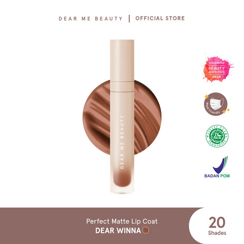 Foto Produk Dear Me Perfect Matte Lip Coat - Dear Winna dari Dear Me Beauty