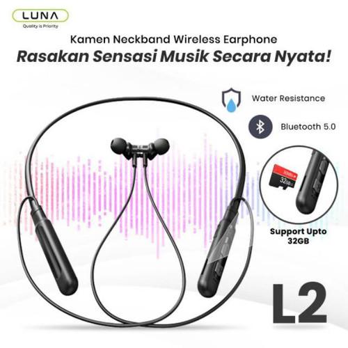 Foto Produk Neckband Sport Wireless Earphone luna L2 dari Luna Life