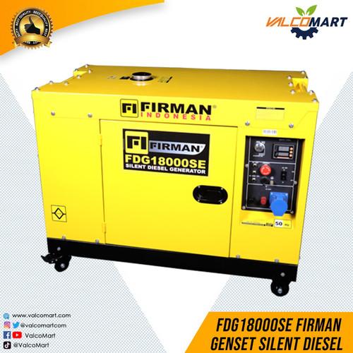 Foto Produk Firman Mesin Genset Diesel FDG18000SE 11KW 1 Phase. Diesel Generator dari Valco