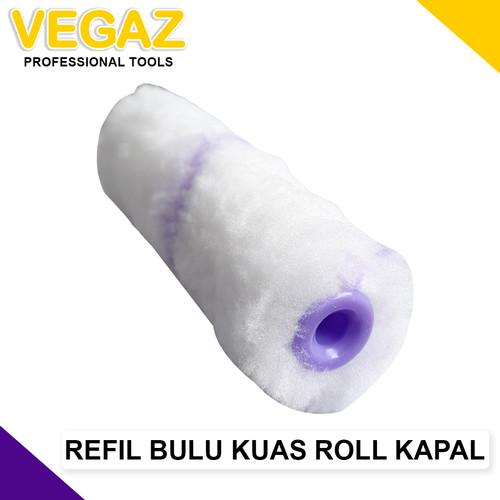 Foto Produk VEGAZ - Refil Kuas Roll Kapal BULU 4 inch dari Vegaz-Tools
