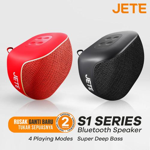 Foto Produk Speaker Bluetooth JETE S1 High Stereo Ultra Bass - Original dari Doran Gadget