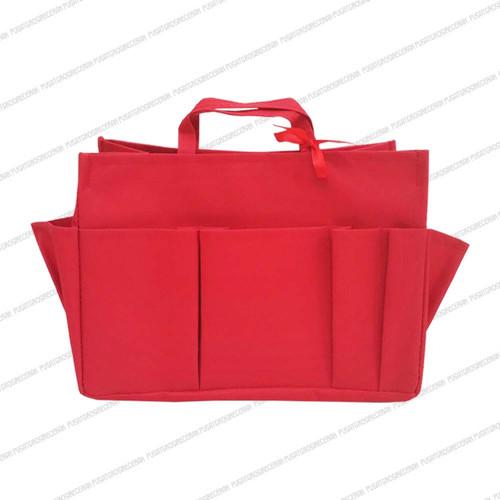 Foto Produk Bag in Bag size M (Bag Organizer) - Merah Merah dari Pusat Grosir Eceran