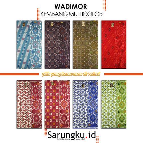 Foto Produk SARUNG WADIMOR KEMBANG MULTICOLOUR - COVER dari SarungkuID