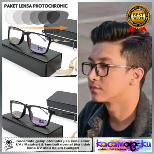 Foto Produk Kacamata Minus Sporty Pria Photocromic Anti Radiasi Kotak 195 - frame saja dari Kacamata-KU