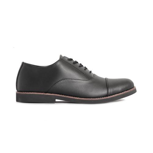 Foto Produk Lvnatica Footwear Dante Black Sepatu Pantofel Pria Formal Kerja - Hitam, 39 dari Lvnatica Footwear