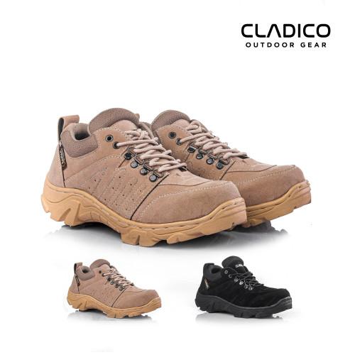 Foto Produk SEPATU BOOTS PRIA SAFETY ANKLE CLADICO SKYWAY CREAM HITAM - Hitam, 39 dari Cladico Outdoor Gear