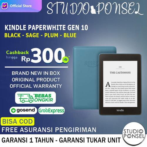 Foto Produk Amazon New Kindle Paperwhite 10th Gen 32GB Black - 4GB Black dari Studio Ponsel