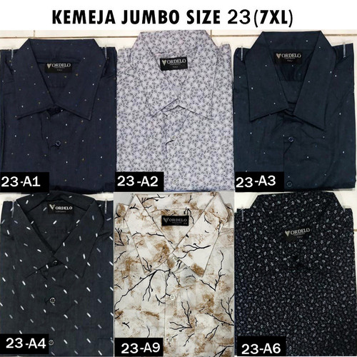 Foto Produk VM Kemeja JUMBO Pendek Super Big Size 7XL dari VM VanMarvell