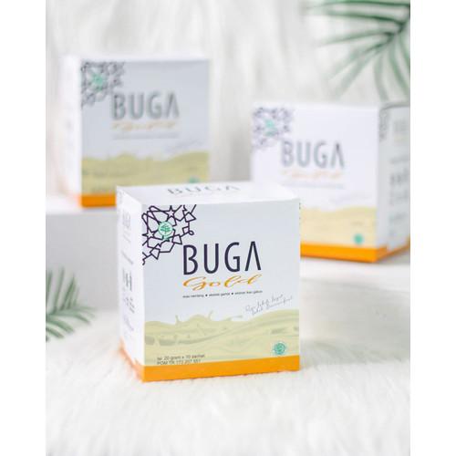 Foto Produk BUGA Gold Susu Kambing Etawa Gula Aren, Ekstrak Gamat, Gabus + Kolagen dari BUGA Official