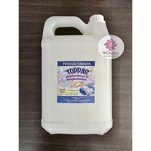 Foto Produk Handsoap Sabun Cuci Tangan TOPPAS 5L Aroma Jasmine Murah Berkualitas dari HiCleaning