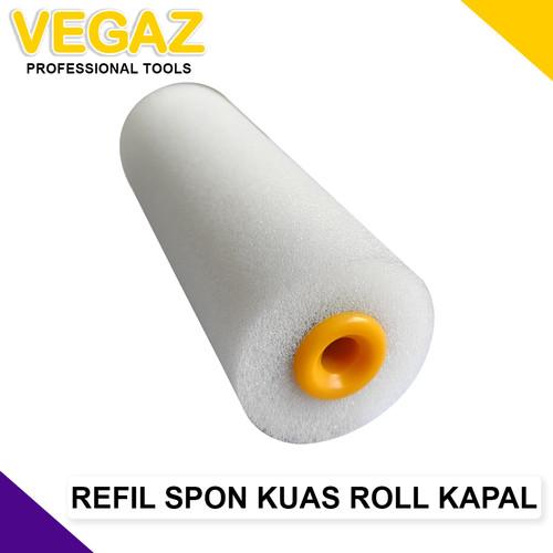Foto Produk VEGAZ - Refil Kuas Roll Kapal SPON 4 inch dari Vegaz-Tools