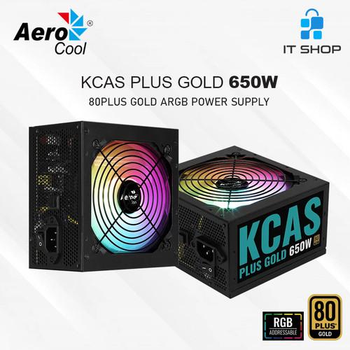 Foto Produk Aerocool RGB Power Supply KCAS 650G dari IT-SHOP-ONLINE