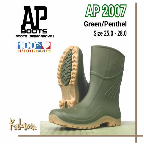 Foto Produk SEPATU BOOT MURAH AP BOOT AP 2007 GREEN dari kakimu_ols
