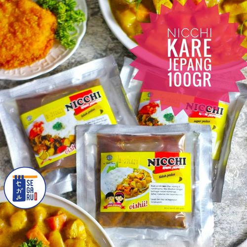 Foto Produk NICCHI Kare Jepang | Kari Jepang | Japanese Curry Paste 100 gr - Halal - Ayam Pedas Sdg dari Segaru Foods