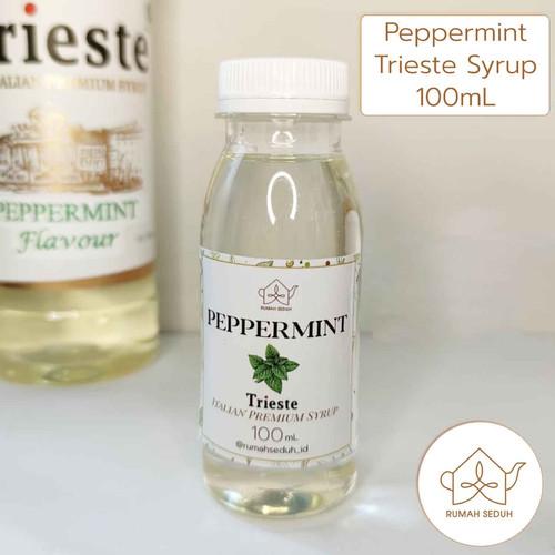 Foto Produk Trieste Syrup Repack 100mL Tea Mojito S. - Banana Passion Blue Curacao - Peppermint dari Rumah Seduh Jakarta