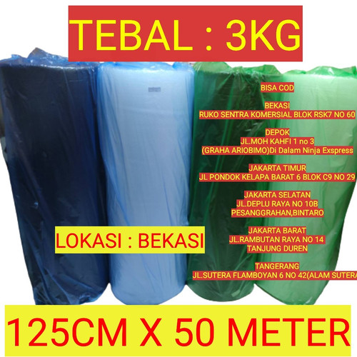 Foto Produk Buble Wrap 1 roll - HITAM 2.4KG dari Bubble Wrap Jakarta Timur
