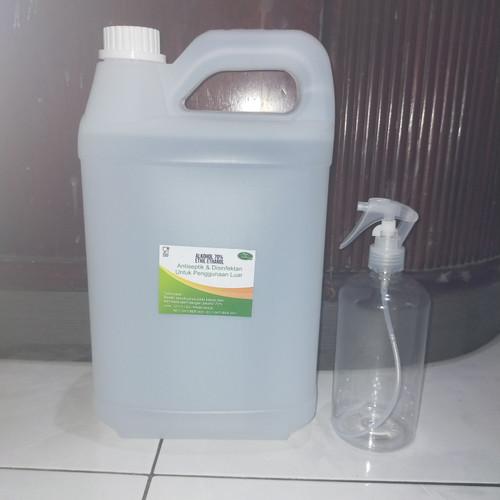Foto Produk alkohol 70% food grade/ 5 liter dari millane store