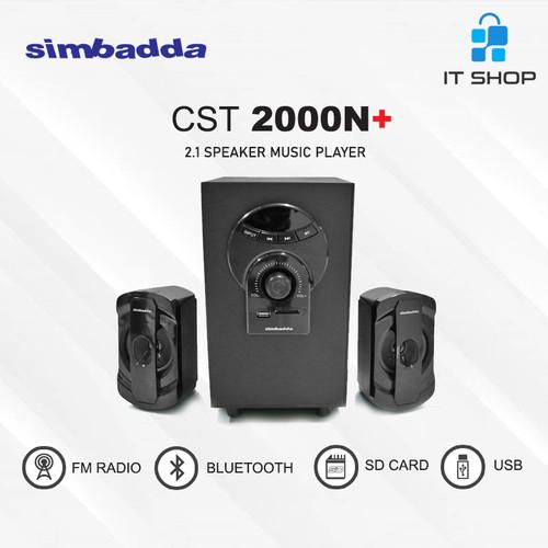 Foto Produk Simbadda Speaker CST-2000N Plus dari IT-SHOP-ONLINE