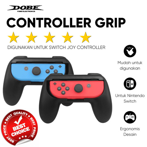 Foto Produk Dobe Controller Grip Joy-Con Nintendo Switch Controller dari TokoUsbcom