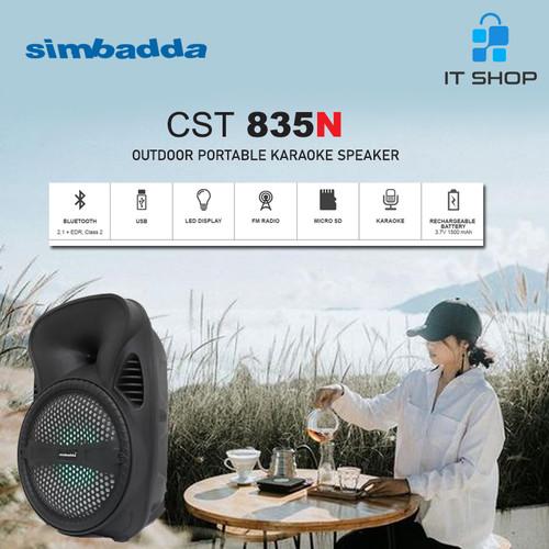 Foto Produk Simbadda Portable Karaoke Speaker CST 835N dari IT-SHOP-ONLINE