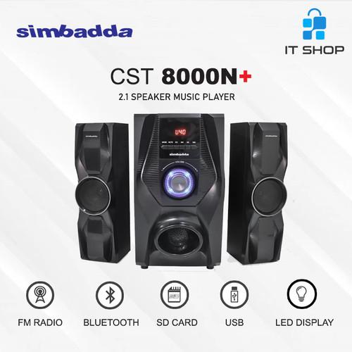 Foto Produk Simbadda Speaker CST 8000N+ dari IT-SHOP-ONLINE