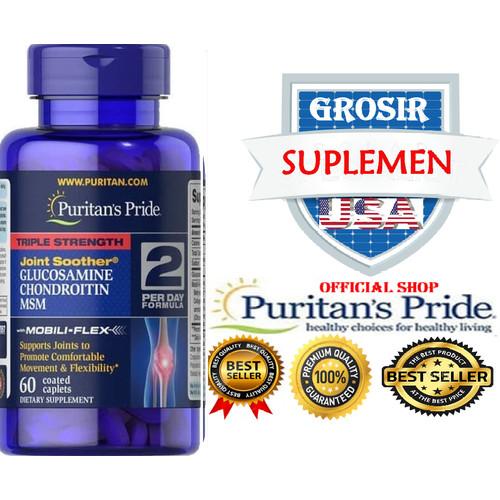 Foto Produk Puritan Triple Strength Glucosamine Chondroitin MSM 90CAP - S dari SUPLEMEN SEHAT 99