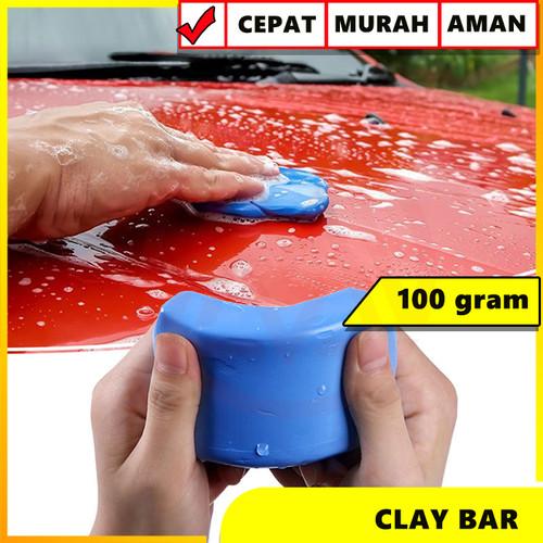 Foto Produk CLAYBAR CLAY BAR PEMBERSIH KOTORAN BURUNG ASPAL BODY MOBIL MOTOR dari Modifikasi Market