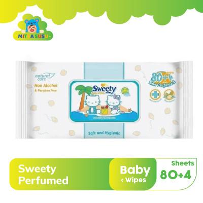 Foto Produk sweety tissue basah perfumed baby 80 4 dari mitrasusu