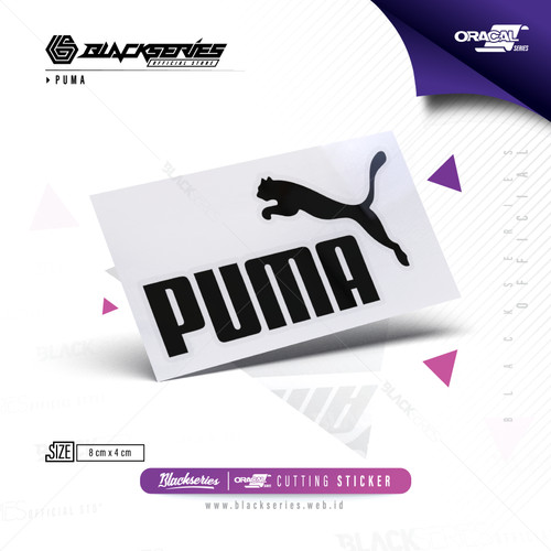 Foto Produk Cutting Sticker Logo Puma Bahan Oracal | Stiker Logo Puma - Hitam dari Blackseries Official
