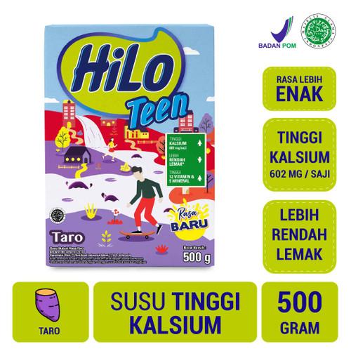 Foto Produk HiLo Teen Taro 500gr - Susu Tinggi Kalsium dari NutriMart