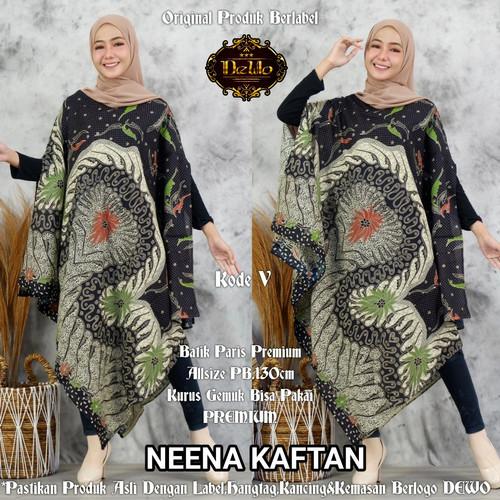 Foto Produk kaftan asimetris paris batik dari Jivan Batik