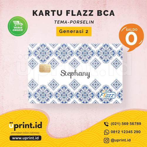 Foto Produk Kartu Flazz BCA Gen 2 | Saldo 0 | Custom Nama | FLZ081 dari Uprint.id