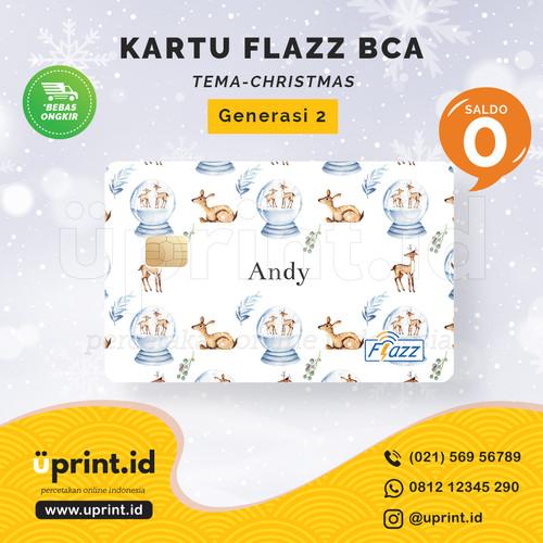 Foto Produk Kartu Flazz BCA Gen 2 | Saldo 0 | Custom Nama | FLZ089 dari Uprint.id