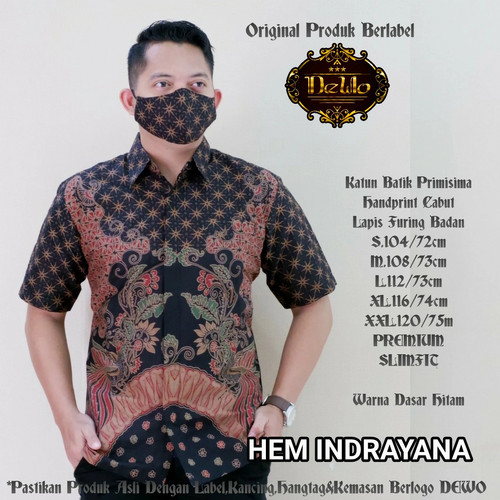 Foto Produk kemeja slimfit batik indrayana premium dari Jivan Batik
