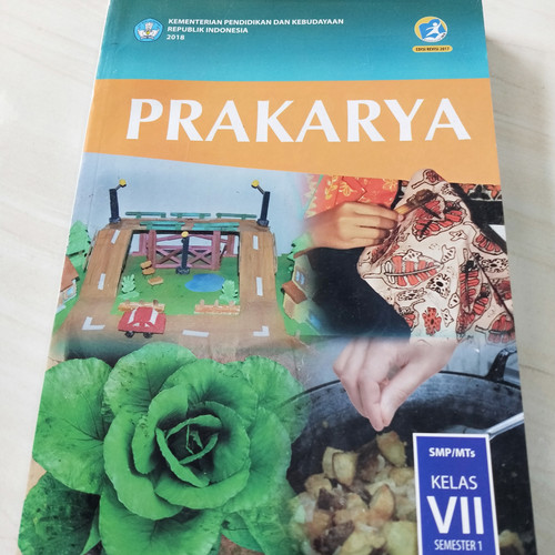 Foto Produk Buku Prakarya Semester 1 Kelas 7 K13 Revisi 2017 dari Gerai Buku Sekolah