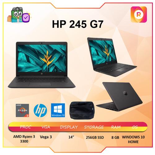 Foto Produk HP 245 G7 Ryzen 3 3300 8GB 256ssd Vega3 W10 14.0 Black - BLACK dari royalltech