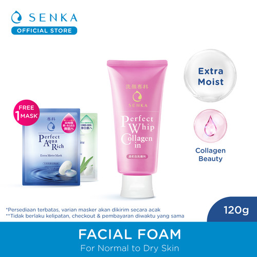 Foto Produk SENKA Perfect Whip Collagen-in 120g dari Senka Official Store