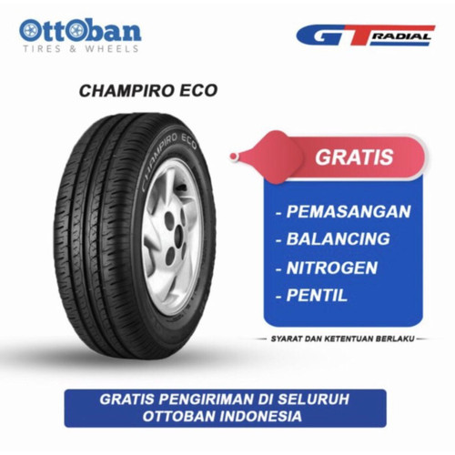 Foto Produk GT Radial Champiro Eco 175 65 R14 82T Ban Mobil Toyota Calya dari ottoban indonesia