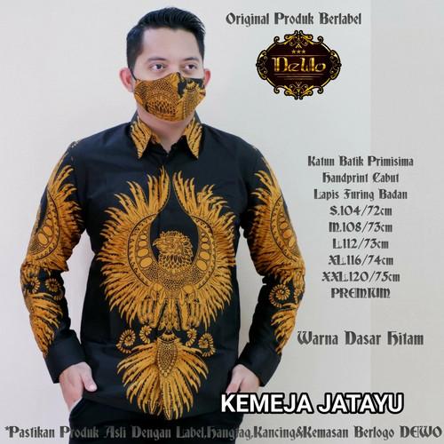 Foto Produk kemeja batik jatayu slimfit premium dari Jivan Batik