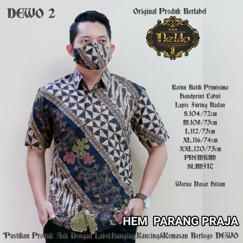 Foto Produk kemeja batik parang praja slimfit premium dari Jivan Batik