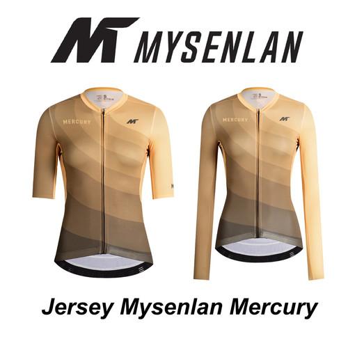 Foto Produk Jersey Mysenlan MERCURY MCQSS001B Yellow Women Short Long Sleeve dari FittoBike