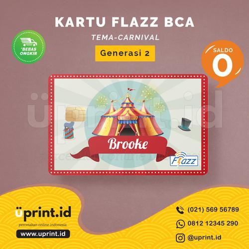 Foto Produk Kartu Flazz BCA Gen 2 | Saldo 0 | Custom Nama | FLZ075 dari Uprint.id