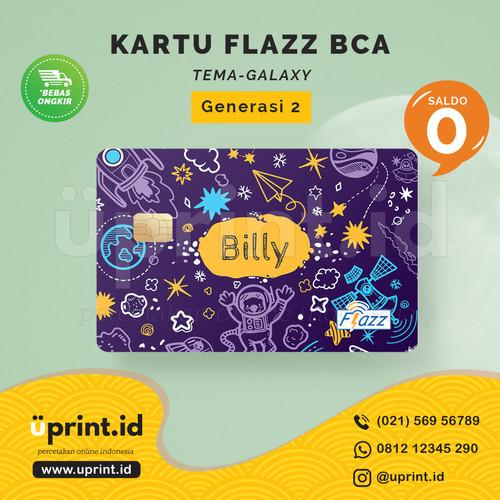 Foto Produk Kartu Flazz BCA Gen 2 | Saldo 0 | Custom Nama | FLZ093 dari Uprint.id